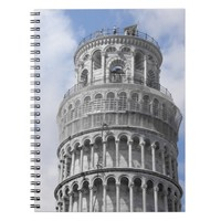 Leaning Tower of Pisa Lined Notebook