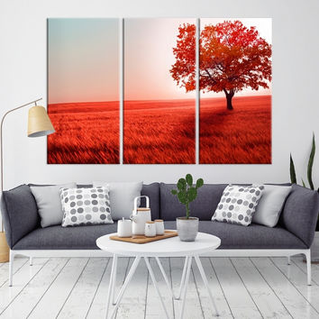 65852 - Forest Wall Art- Autumn Canvas Print- Forest Canvas- Forest Canvas Art- National Art Print- Canvas Print- Large Wall Art-