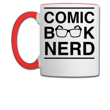 Comic Book Nerd1 - Coffee/Tea Mug