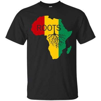 Black History Month African Roots Tshirt Africa Lives Matter