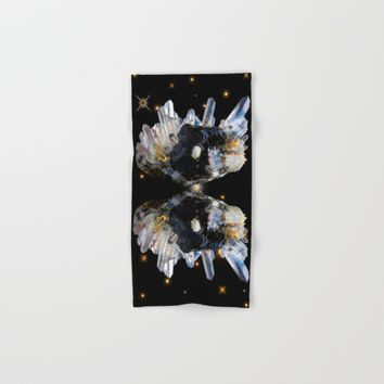 Star Aura Quartz Hand & Bath Towel by Azima