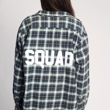 Squad Flannel