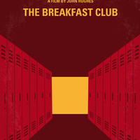 No309 My The Breakfast Club minimal movie poster Art Print by Chungkong