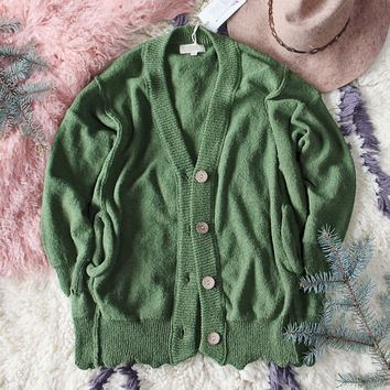 Saturday Morning Sweater in Pine