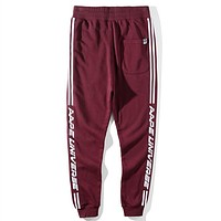 Boys & Men Aape Fashion Casual Pants Trousers Sweatpants