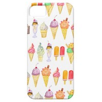 Watercolour Ice Cream - iPhone 5/5S Case