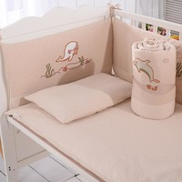 2018 New Design baby bed set 4pcs baby bedding bumpers in the crib Soft baby cot bumper crib baby bed protector bedding set