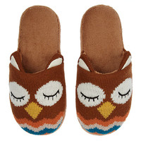 Buy Aroma Home Owl Slippers online at John Lewis