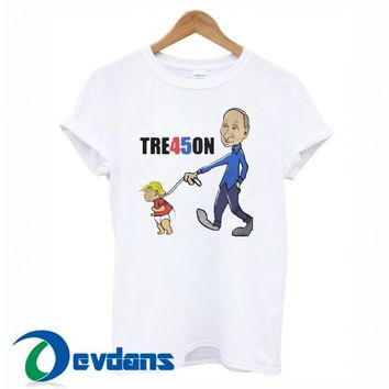 TRE45ON Trump T Shirt Women And Men Size S To 3XL