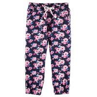 OshKosh B'gosh Floral Jogger Pants - Girls