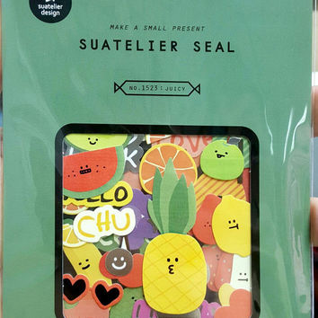 1523- Juicy Korean Sticker Travel of Suatelier Kawaii Cute stickers, Scrapbooking