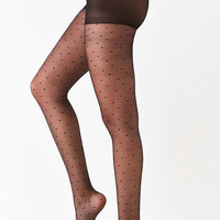 Out From Under Sheer Dot Tight | Urban Outfitters