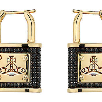 Vivienne Westwood Darianne Padlock Earrings