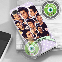 Dylan O'brien Collage - iPhone 4/4s/5/5S/5C Case - Samsung Galaxy S2/S3/S4 Case - Black or White