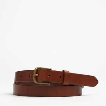 Classic Leather Belt in Brown