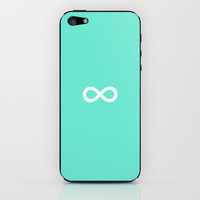 Infinity iPhone & iPod Skin by Matthew DePalo | Society6