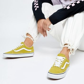 c6971da787bd24 Vans Mustard Old Skool Trainers at asos.com