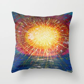 :: OneSun :: Throw Pillow by :: GaleStorm Artworks ::