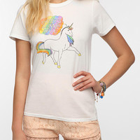 Urban Outfitters - Junk Food Haters Gonna Hate Unicorn Tee