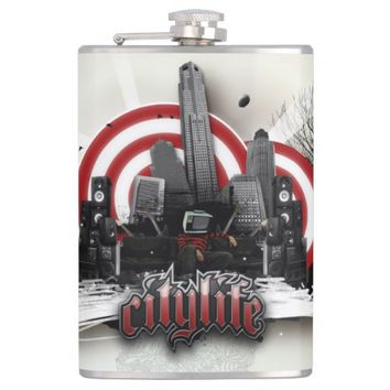 City Style Hip Flask