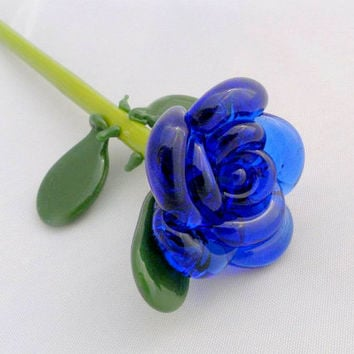 Glass Rose Custom Your Own Forever Untamed Rose by untamedrose