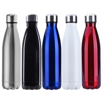 ASLT sports water bottle Cycling Camping Bicycle Sports stainless steel vacuum insulation Cup swell 500ml Great for Cold Drinks