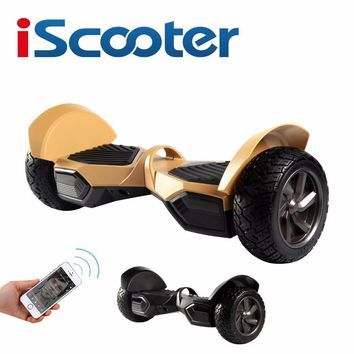 iscooter 8 5 inch elektrische skateboard bluetooth elektroroller e scooter hoverboard wheel electric scooters adults balance new