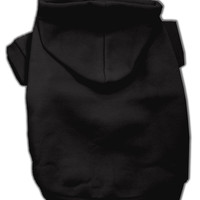 Blank Hoodies Black S (10)