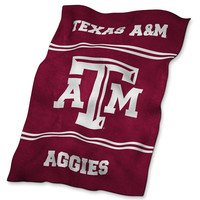 Texas A&M Aggies NCAA UltraSoft Blanket
