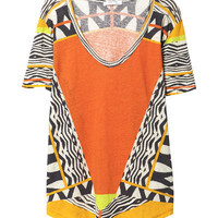 AFRICAN PRINT T - SHIRT - Stock clearance - Woman | ZARA United States