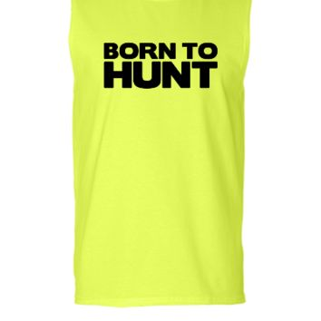 born to hunt - Sleeveless T-shirt