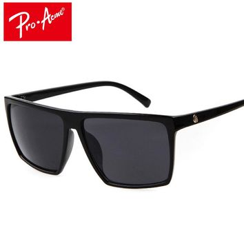 Sunglasses Men Brand Designer Mirror Photochromic Oversized Male