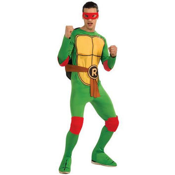 Men's Costume: Teenage Ninja Mutant Turtles Raphael