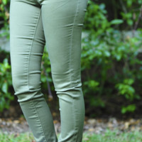 She's Got Good Genes Pants: Green | Hope's