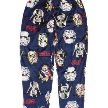 Star Wars Blended Faces Lounge Fleece Sleep Pant