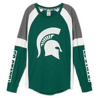 Michigan State University Bling Varsity Crew - PINK - Victoria's Secret