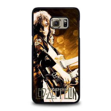 led zeppelin samsung galaxy s6 edge plus case cover  number 1