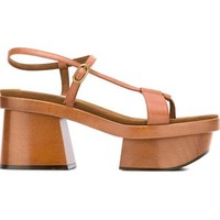 Stella Mccartney Chunky Heel Sandals - Vitkac - Farfetch.com