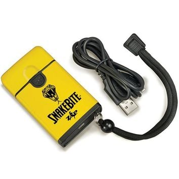 PS Products Snakebit Stun Gun-Flashlight Yellow-Black 20000v