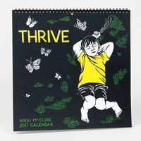 Thrive: 2017 Wall Calendar by Nikki McClure