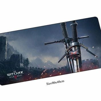 witcher mouse pads cheapest pad to mouse notbook computer mousepad HD print gaming padmouse gamer to keyboard mouse mat