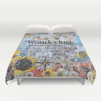 Wanderlust Duvet Cover by Jenndalyn | Society6