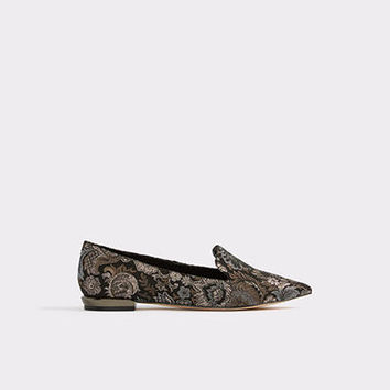 Bellocchi Black Print Women's Brogues & loafers | ALDO UK