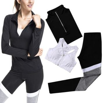 Yoga Work Out Set - Sports Bra + Tracksuit Set