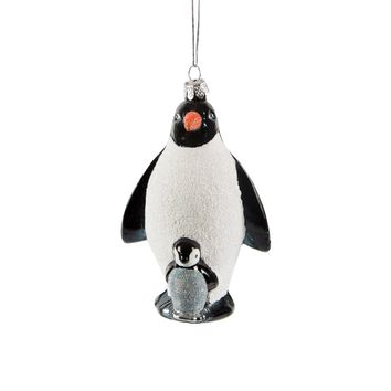 Penguin & Baby Hanging Decoration