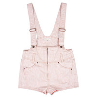 Candy Stripper -FADE COLOR SALOPETTE SHORTS APRICOT [FADE COLOR SALOPETTE SHORTS Aアプリコット]
