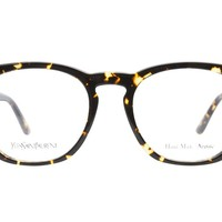 Yves Saint Laurent Glasses | Yves Saint Laurent YSL2322 IL5 Spotted Havana - ClearlyContacts.ca