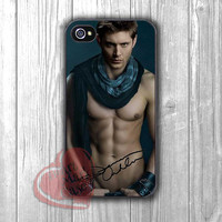 Sexy Jensen Dean Winchester Supernatural - Fzia for iPhone 4/4S/5/5S/5C/6/ 6+,samsung S3/S4/S5,samsung note 3/4
