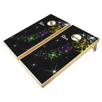 Christmas Star Cornhole Set