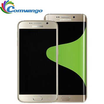 """Samsung Galaxy S6 G920F G920V G920A  Mobile Phone Octa Core 3GB RAM 32GB ROM LTE 16MP 5.1"""" inch Android  Smart Phone"""